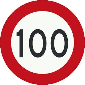 100 km bord