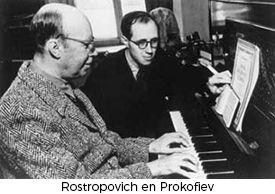 Rostropovich en Prokofiev