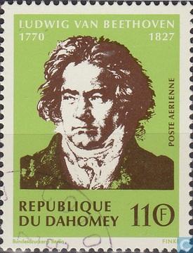 Beethoven postzegel
