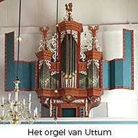 Het orgel van Uttum
