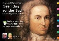 flyer Geen dag zonder Bach