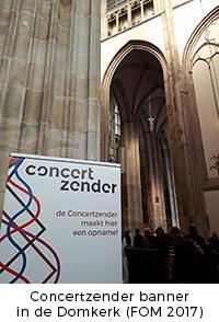 Concertzender banner